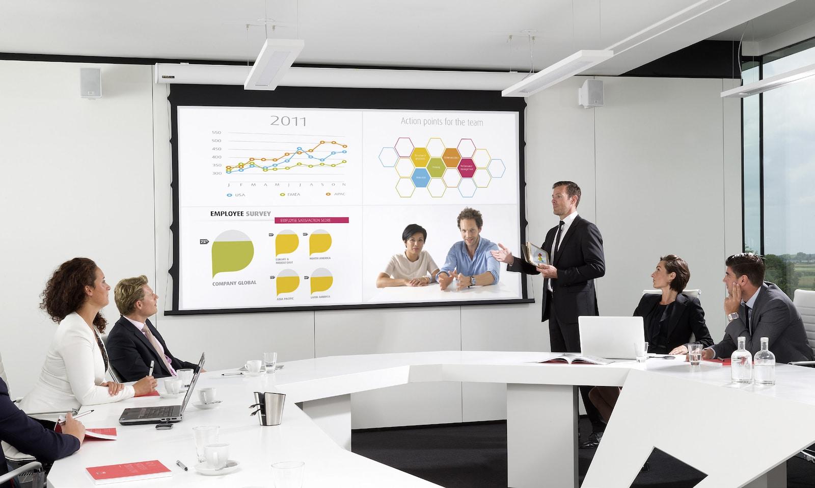 Presentacion en Inglés para empresas