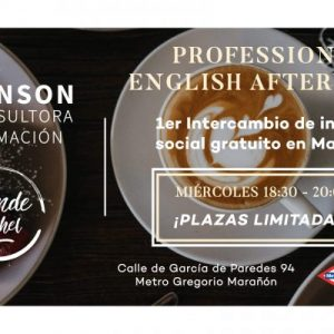 proffesional english afterwork