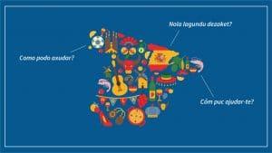 cursos de lengua catalana, vasca y gallega