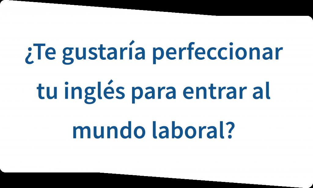pregunta perfeccionar ingles