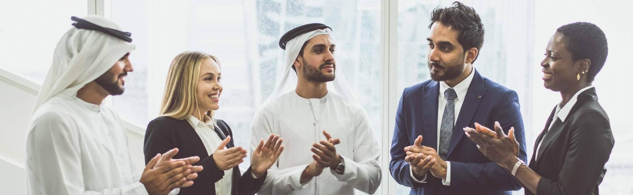 curso de protocolo de negocios en paises arabes